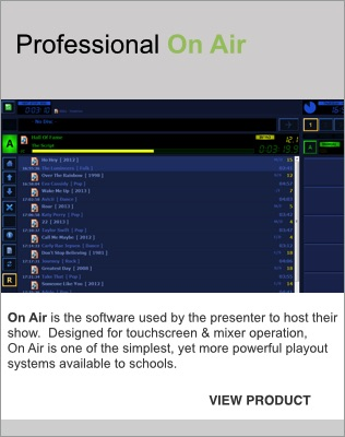 Radio Software for Schools | Radio Playout Software, Scheduling and