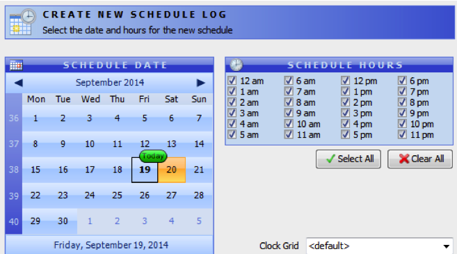 Radio Scheduling | Plan and create your radio show in advance