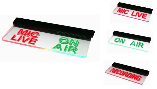 Radio Studio Indicator Lights | Clyde Lumion